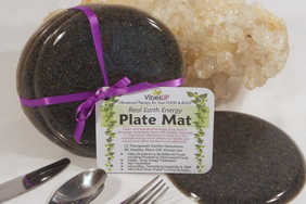 Plate Mats clear & charge your food