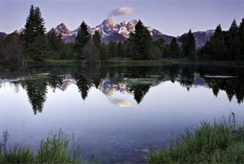 Teton Dawn (Photo by Ken Lee)